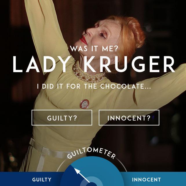 Lady Kruger's Guiltometer