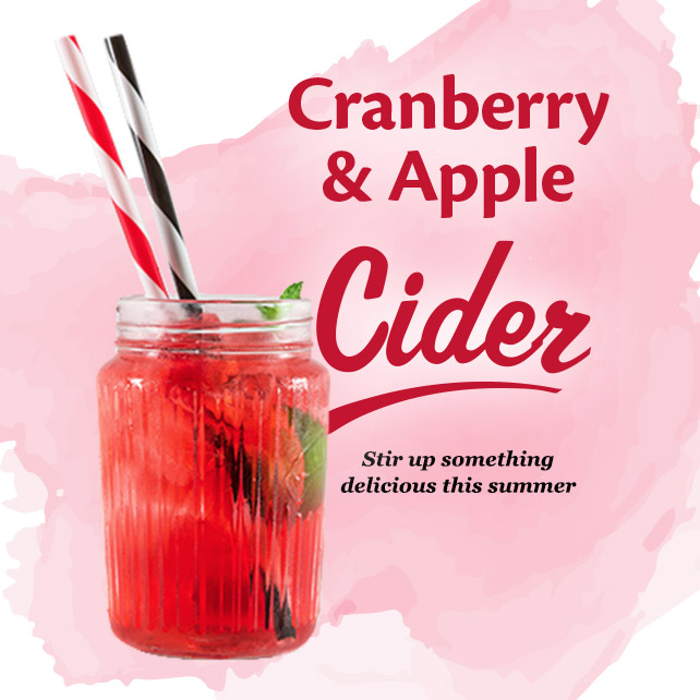 Cranberry & Apple Cider