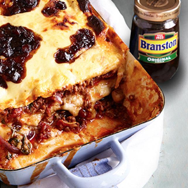 Branston Lasagne Recipe