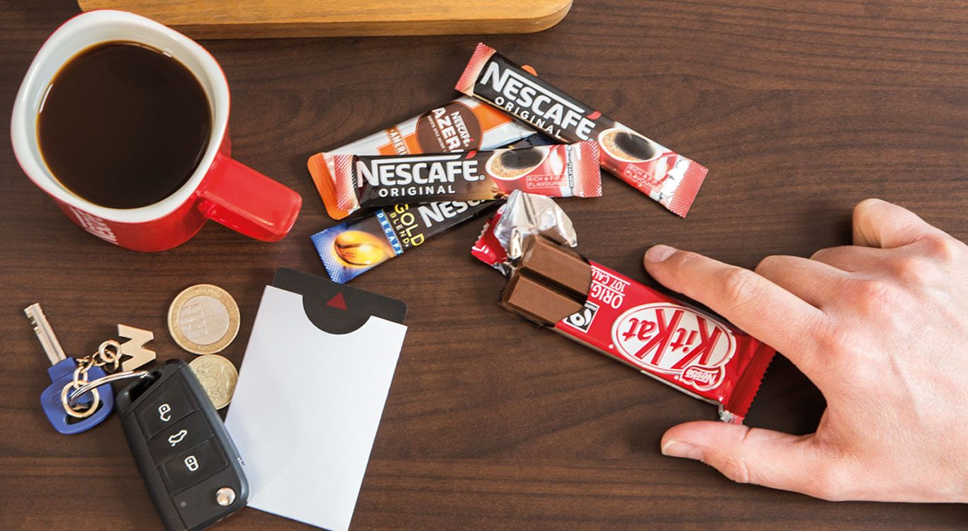 KitKat and Coffee