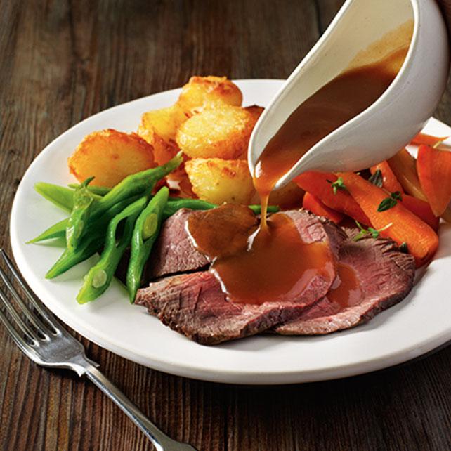 Roast Beef & Gravy