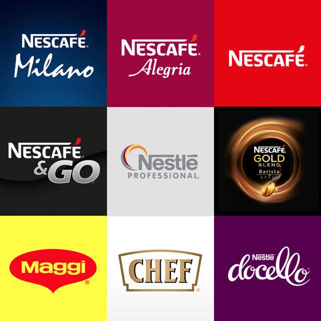 Nestle brands