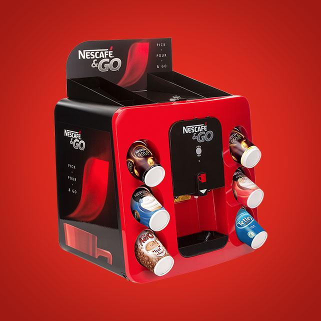 Nescafe & Go Machine