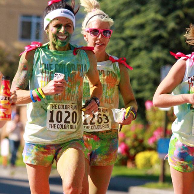 Colour Run Runners