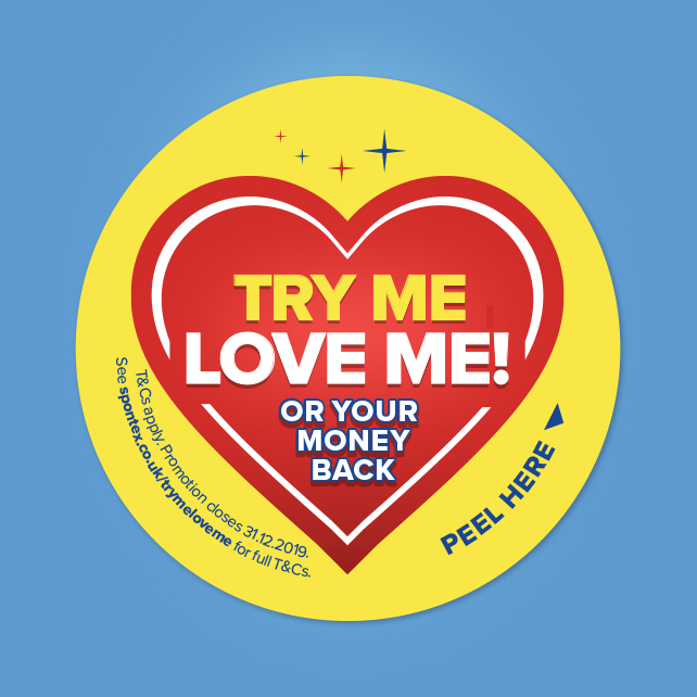 Try Me Love Me Sticker